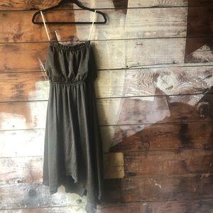 NWT Junior's Large Green Strapless Dress BOGO